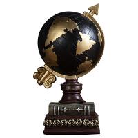 美式复古地球仪摆件欧式酒柜电视柜办公室书房创意装饰品家居摆设