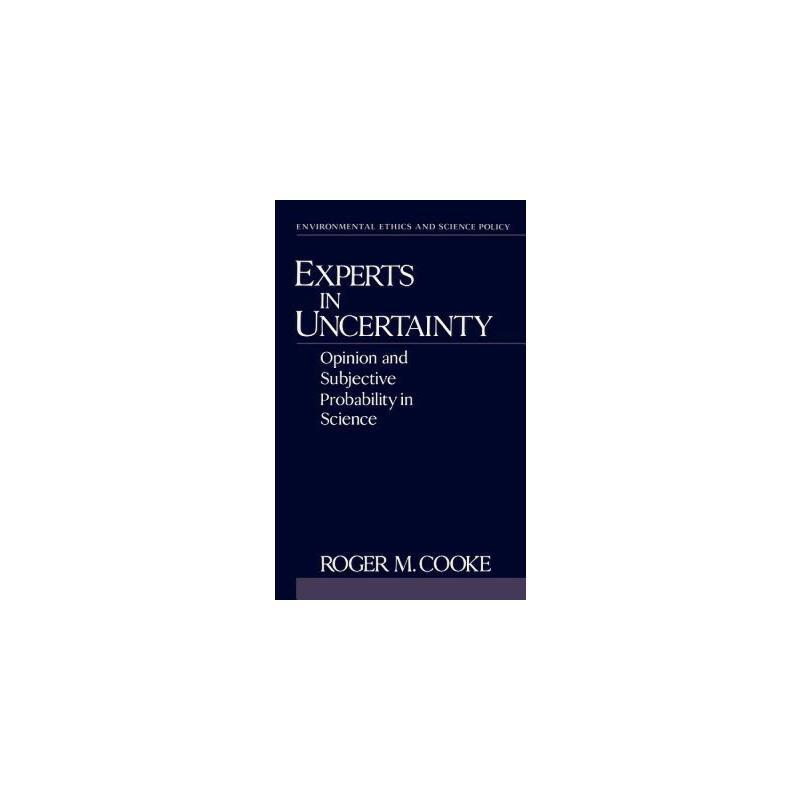 【预订】Experts in Uncertainty: Opinion and Subjective Probability in Science 预订商品,需要1-3个月发货,非质量问题不接受退换货。