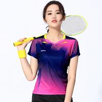 羽毛球服男女短袖T恤运动服上衣 排球服男女乒乓球服