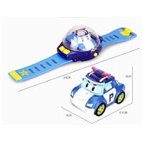 迷你手表遥控小汽车男女孩安巴玩具