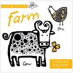 英文原版 Wee Gallery Board Books: Farm小小画廊系列:农场 英文儿童互动读物 纸板书