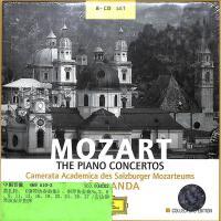 469 510-2MOZART-THE PIANO CONCERTOS(CD)( 货号:2000005031663)