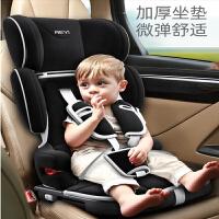 【支持礼品卡儿童安全座椅汽车用简易便携式折叠4车载9月-12岁宝宝婴儿3坐椅0 1nv