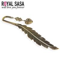 皇家莎莎Royalsasa创意合金书签-书香心语(发簪发插两用)05SP405