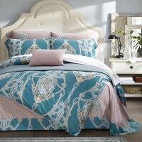 全棉纯棉家纺卡通床上用品床单被套裸睡四套件1.5/1.8米
