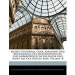 【预订】Meyer's Universum, Oder, Abbildung Und Beschreibung Des
