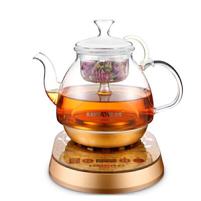 金灶(KAMJOVE) A-55 全自动煮茶器 黑茶玻璃壶 蒸汽煮茶壶电热茶壶A 热压式喷淋玻璃煮茶壶