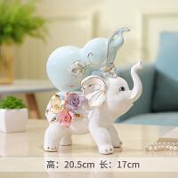 大象摆件家居酒柜装饰品室内客厅摆设卧室房间的小工艺品招财创意