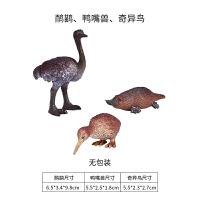 野生动物模型仿真长颈鹿大象熊猫狮子老虎模型玩具SN4913