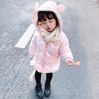 儿童羽绒女童棉衣公主1宝宝冬装外套
