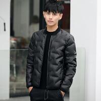 男士轻薄羽绒服男短款修身型潮流2017新款青少年冬季外套保暖正品