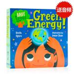 宝宝爱科学绿色能源 Baby Loves Green Energy! 英文原版 Baby Loves Science
