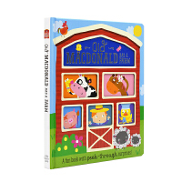 Old Macdonald Had a Farm 麦克唐纳爷爷有个农场 儿童英语经典童谣洞洞书 英文原版图书