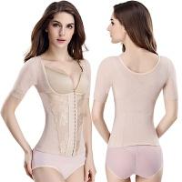 2018新款短袖加强收腹束腰塑身上衣塑身衣美体衣女塑形衣束身衣分体塑身衣