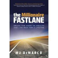 【现货】英文原版 百万富翁快车道:破解财富密码 The Millionaire Fastlane 9780984358