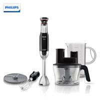 飞利浦(PHILIPS)料理机 家用多功能手持式搅拌机棒料理切碎打蛋器可榨汁 HR1677/94