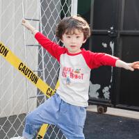 儿童男童长袖T恤打底衫宝宝单衣休闲
