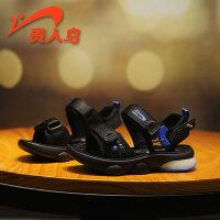 贵人鸟男童凉鞋2021新款夏季潮中大童软底防滑小童沙滩鞋儿童鞋子