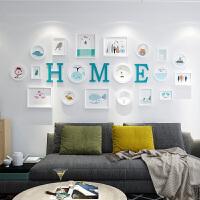 时尚客厅装饰画现代简约沙发背景墙壁画创意挂画照片墙 占墙面积约