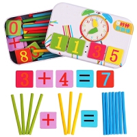 木质数数棒数学算术棒幼儿园益智数字棒儿童算数教具小孩加减玩具