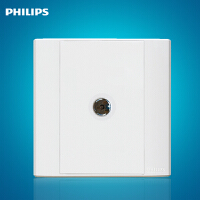 飞利浦墙壁面板开关插座Q4-801TV 单孔电视插座有限电视插座