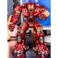 漫威超巨大反浩克装甲钢铁侠mk44复仇者树脂摆件手办模型人偶玩具