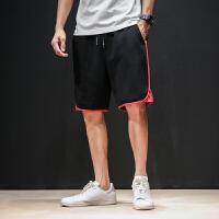 夏季运动短裤男士加肥加大码韩版宽松五分裤潮流休闲胖子薄款中裤