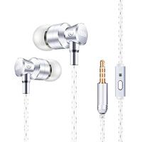 【包邮】K3入耳式手机耳机 音乐电脑mp3手机耳机 线控带麦入耳式耳机 通用苹果安卓双系统 兼容 三星 华为 小米 OPPO vivo 金立