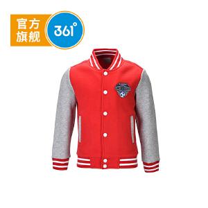 361° 361度童装 男童外套秋季童装男童针织加厚外套儿童外套 K56442041