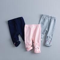 童装女童打底裤春装0-1-2-3-4岁女宝宝春秋装婴儿裤子紧身公主潮
