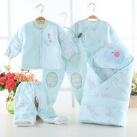 贝萌 秋冬款婴儿衣服加厚纯棉新生儿礼盒 套装婴幼儿刚出生宝宝用品棉衣