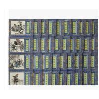 老版连环画 上美正品盒装 水浒传连环画小人书全套40册