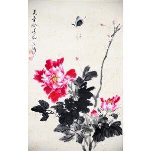 H王雪涛  蝶恋花  69*44