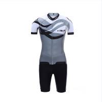 骑行服套装短袖硅胶男女薄款透气骑行服短袖自行车骑行装备