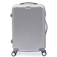 行礼拉箱女PC拉杆箱万向轮旅行皮箱包女带拉合轻20寸24寸28寸拉链款行李箱 男