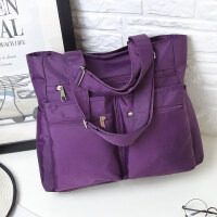 新款旅行包女行李袋手提大容量超大衣服简约韩版短途小清新轻便潮妈咪 中