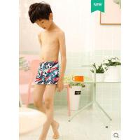 儿童泳裤男小童中大童泳衣速干宝宝平角男孩婴幼儿可爱沙滩短裤