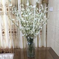 黄色跳舞兰仿真花束 塑料花假花套装室内装饰花干花客厅摆件花艺