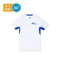 【折后叠券预估价:23.8】361度男童短袖针织衫夏季新款K51823206