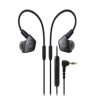 铁三角(Audio-Technica)ATH-LS300iS 入耳式耳机 铱银色