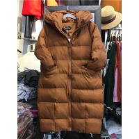 F8韩版女冬季外套棉袄学生 过膝面包服 情侣棉衣女中长款1.15