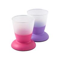 【网易考拉】BABYBJORN 宝宝学习杯婴儿饮水杯不倒水杯防滑杯 不含BPA 两只装