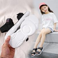 女童运动凉鞋公主女孩软底夏季中大童儿童鞋