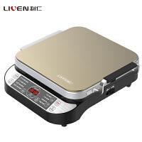 利仁(Liven)LR-FD431电饼铛高端智能煎烤机侧开时代可拆洗家用房方盘