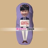 20181019181441383林俊杰娃娃人形Q版抱枕生日礼物DIY异形枕头周边靠垫照片定制