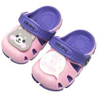 宝宝拖鞋夏男童1-3岁儿童防滑室内2软底沙滩女童凉拖鞋