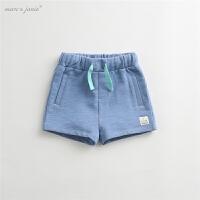 夏装新款婴儿宝宝短裤 男女童裤子儿童纯棉短裤