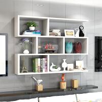 墙上置物架壁挂墙架吊柜挂柜墙壁柜现代简约墙柜书架书柜创意酒架