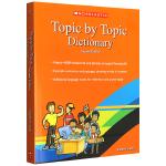 华研原版 学乐英语主题分类词典 Topic by Topic Dictionary 原版进口英英字典 第二版 乱序分类