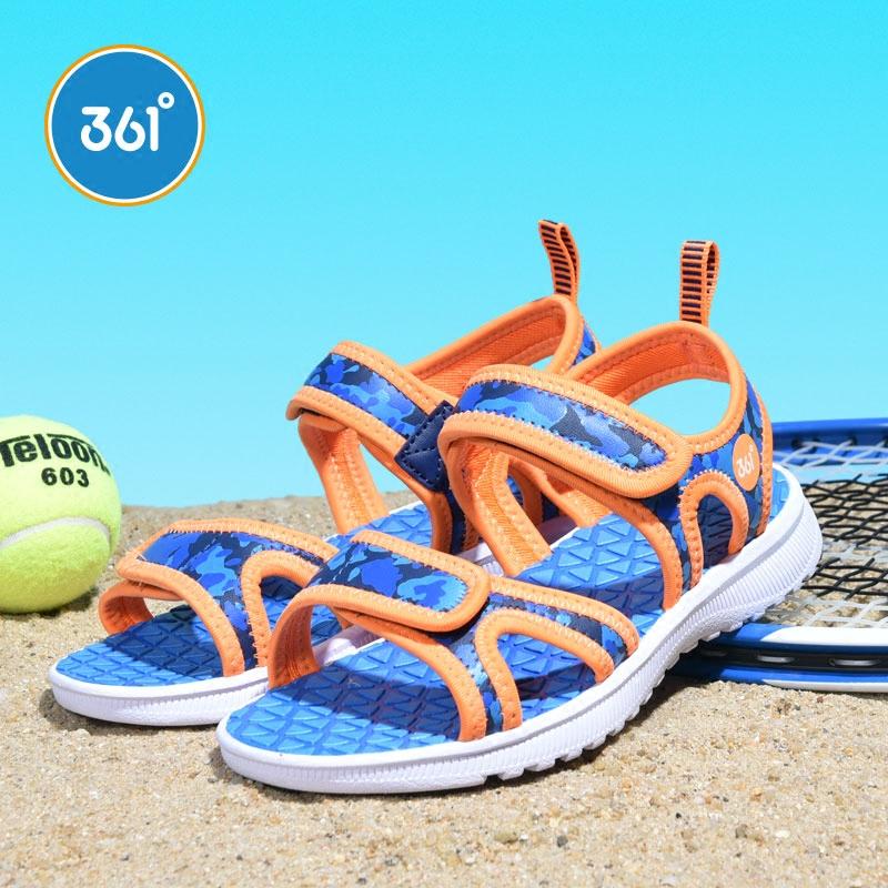 【限时秒杀价:59】361度男女童沙滩运动休闲凉鞋2020年夏季新款N71822653 下单立减,限时满29元免运费